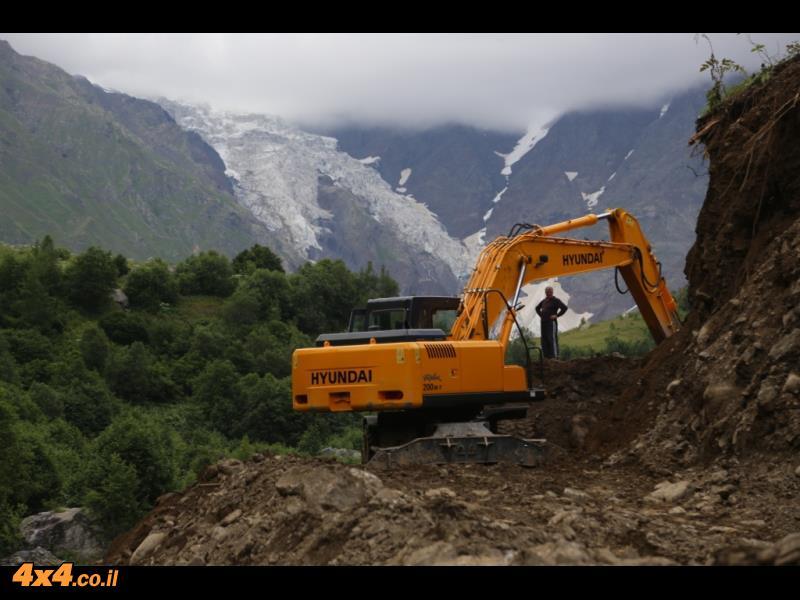 מטפסים למעבר ההרים