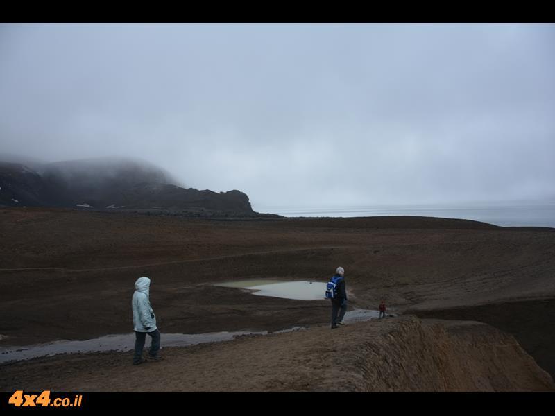 בוקר שבת מתחיל בצעדת בוקר אל הר הגעש