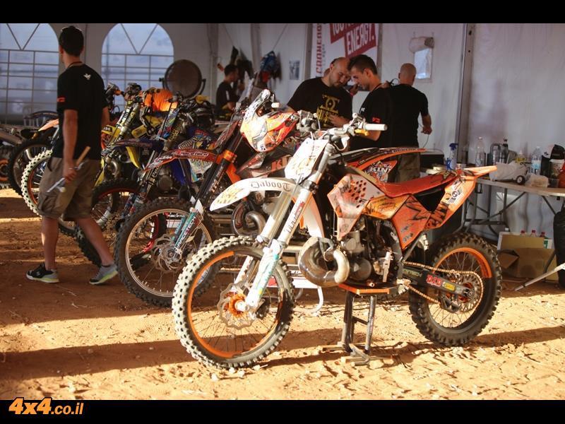 המגף באוויר - אופנועים בפסטיבל אקסטרים ספורט