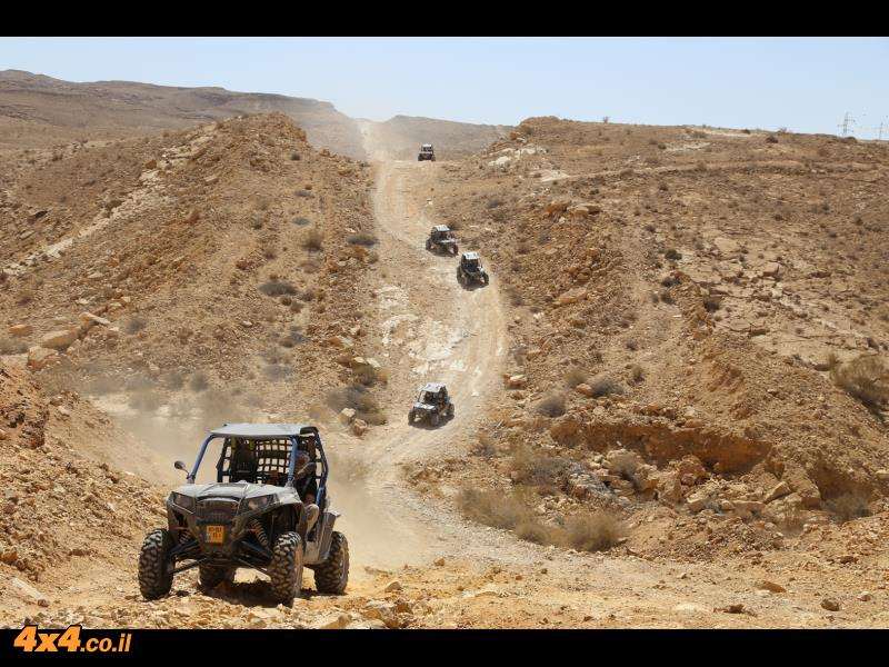 Mangrove RZR from TLV into deep Negev Desert