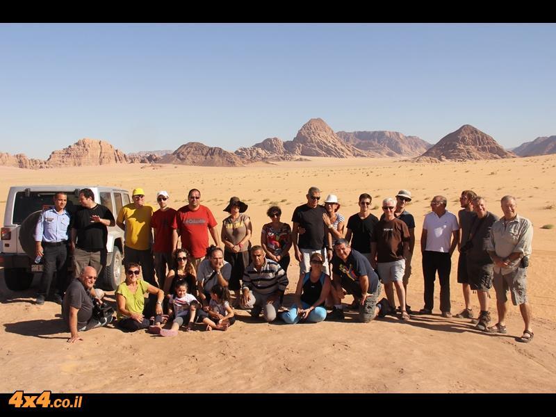 טיול ג'יפים למערב ירדן - סוכות 2013