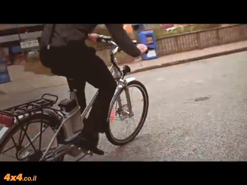 אופניים חשמליים - זהירות