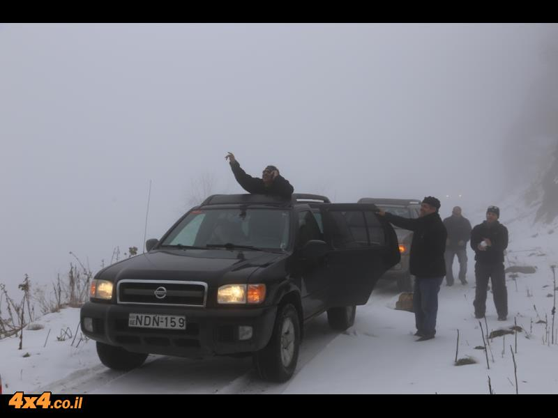 רוח מקפיאה, ערפל סמיך, בוץ, שלג וקרח...