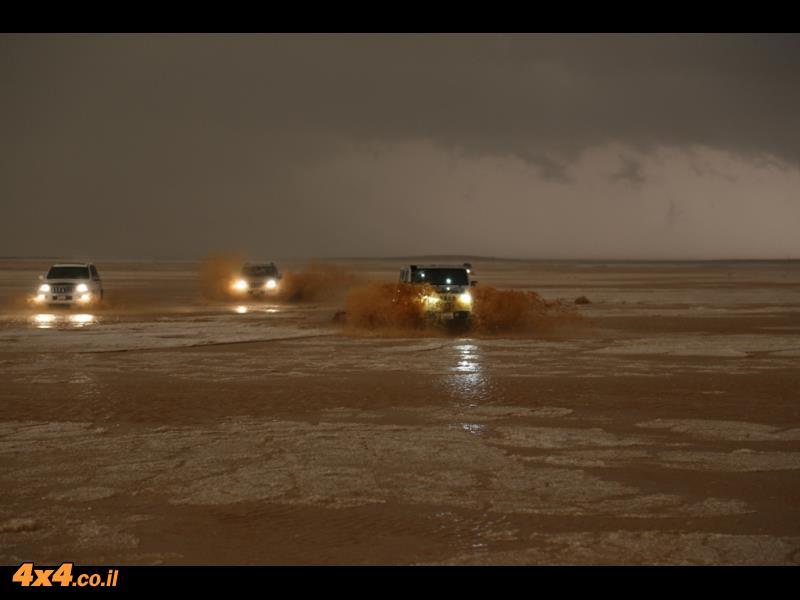 ביום השלישי: מים במדבר... וזה לא נגמר!