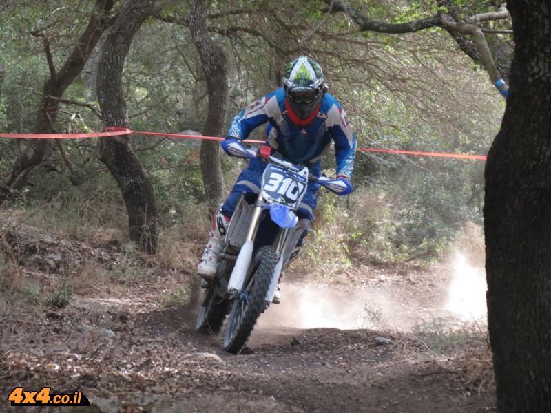 מרוץ אופנועי אנדורו - כפר החורש 9.11.2013