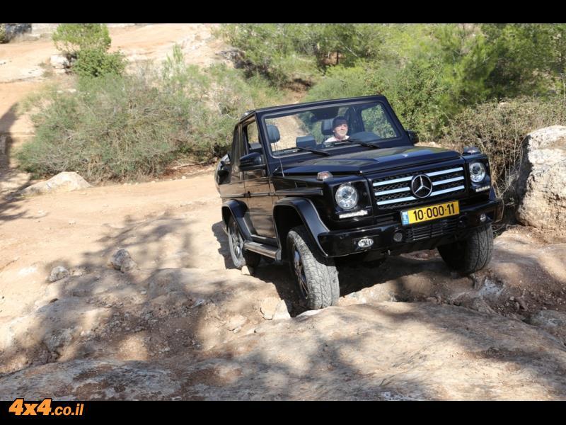 שחור ולבן: מרצדס Mercedes G