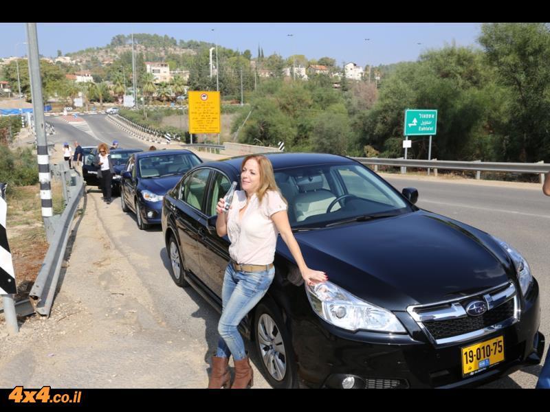 ליס-פור-יו בכביש ובשטח עם סובארו