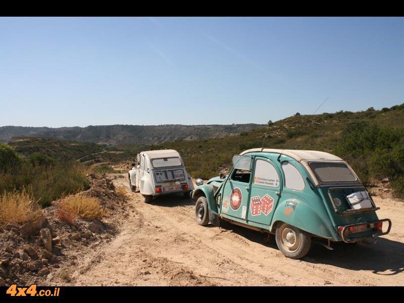 מסע שטח טרנס איבירי בסיטרואן דה-שבו