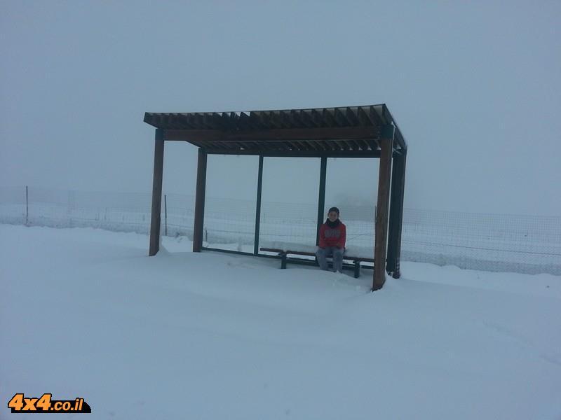 שלג בקשת ובחושניה