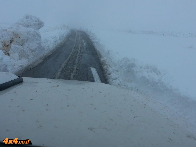 ימים של שלג ברמת הגולן