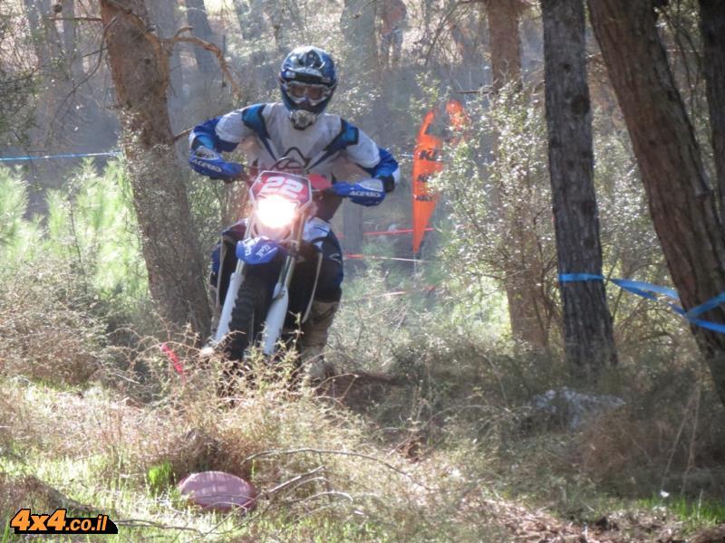 מרוץ אופנועי אנדורו - בית קשת 27.12.13