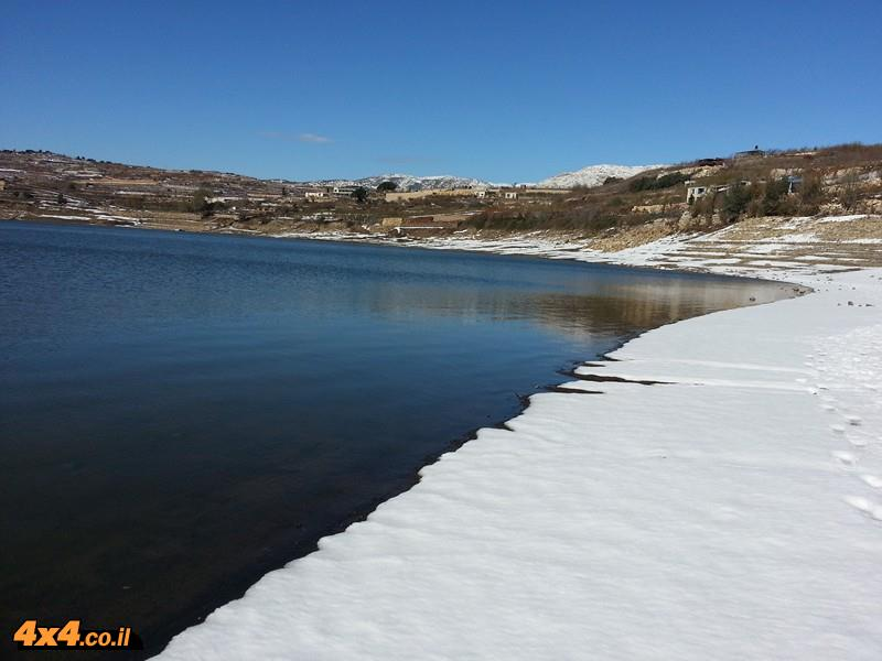 אתר השטח בטיולי שלג ושיטפונות בסופה הגדולה ולאחריה