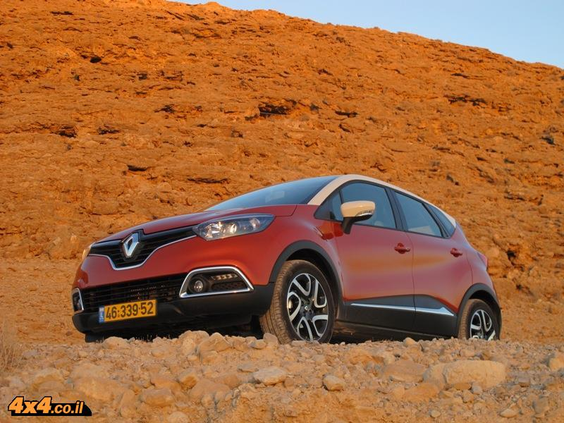 מבחן דרכים רנו קפצ'ור בגיר ידני Renault Captur