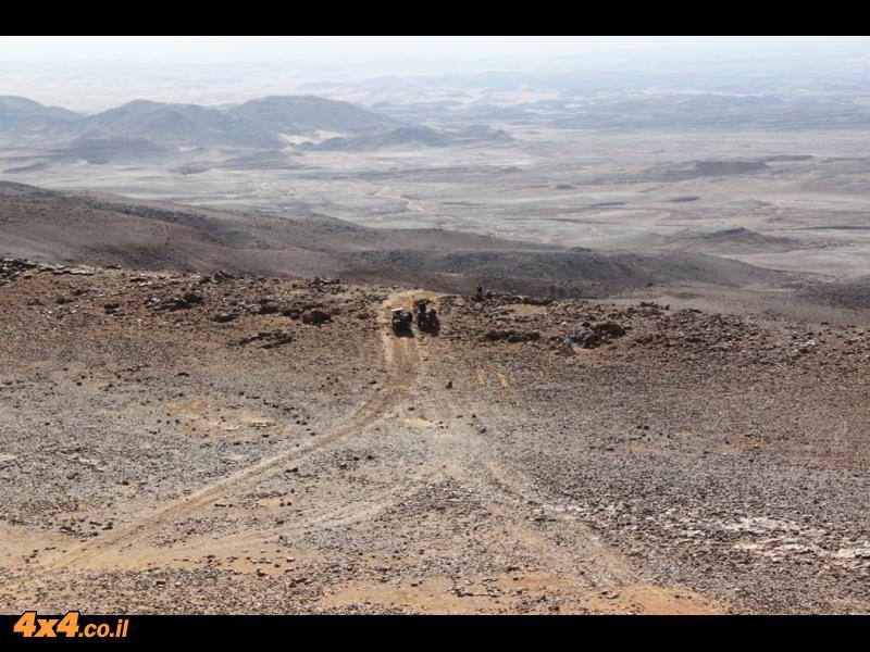 על רמת המדבר