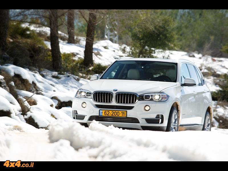 מבחן דרכים ב.מ.וו  BMW X5