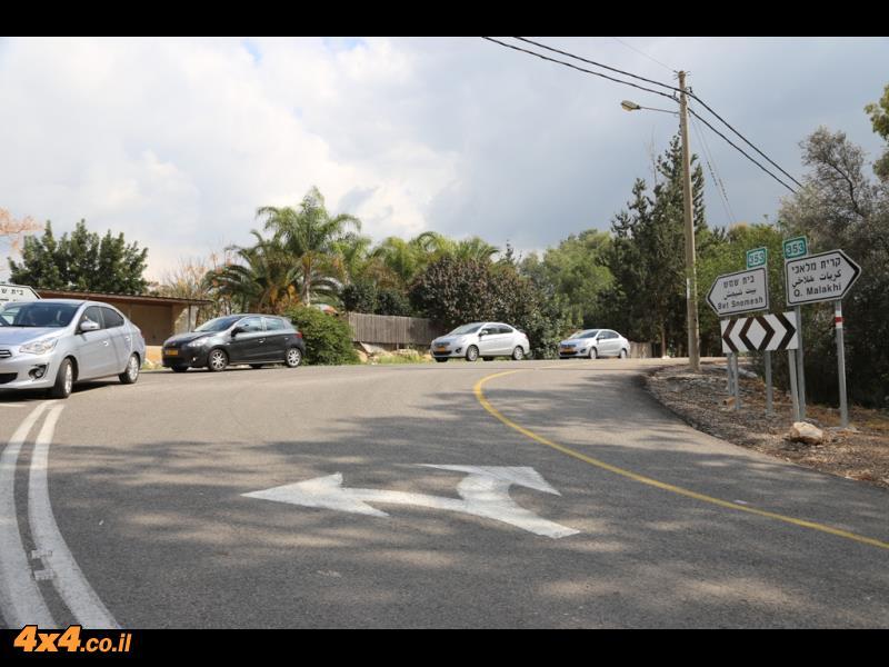 בכבישי השפלה והרי ירושלים