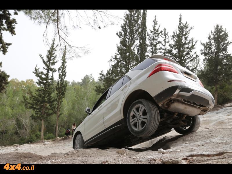 הדרכת מרצדס SUV בהר חורשן