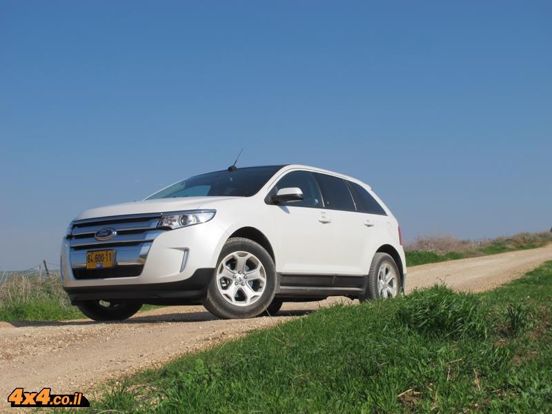 מבחן דרכים פורד אדג' Ford Edge