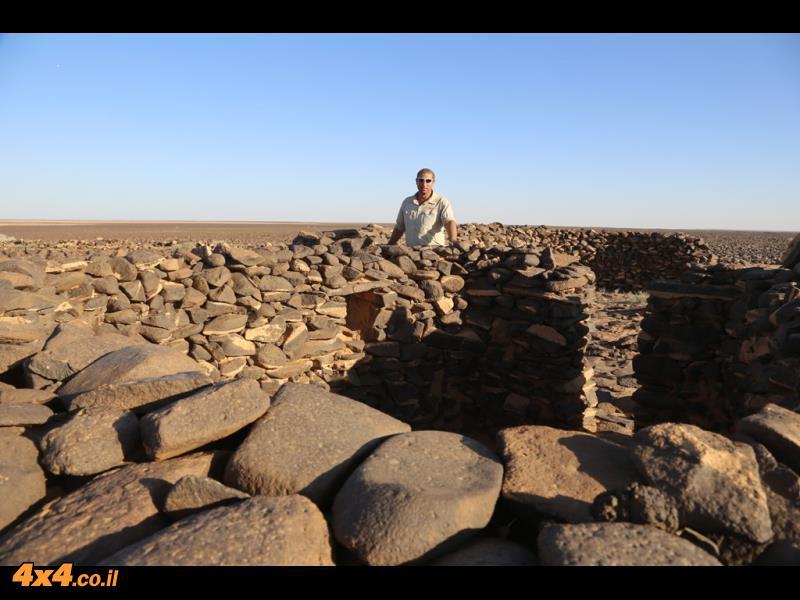 בין מליחות אין  סופיות לבזלות אימתניות - מסע ג'יפים, מזרח ירדן