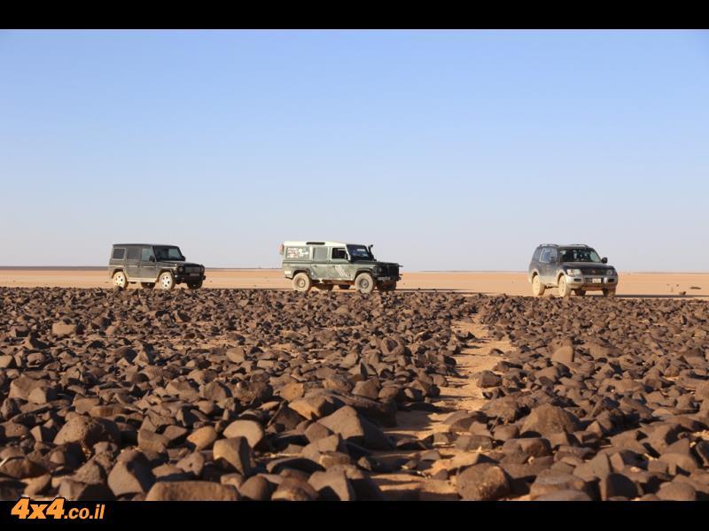בזלת בלב המדבר