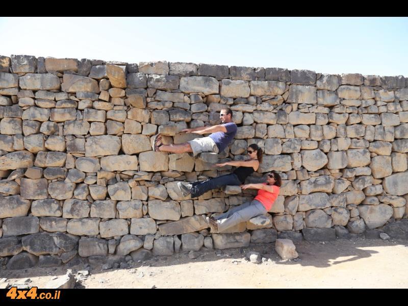 מצודות המדבר, פילאטיס ורומנטיקה בין העתיקות