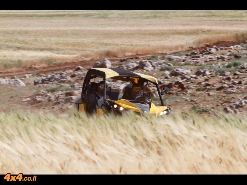 תמונות שצילם רונן טופלברג במהלך טיול טרקטורונים BRP באזור