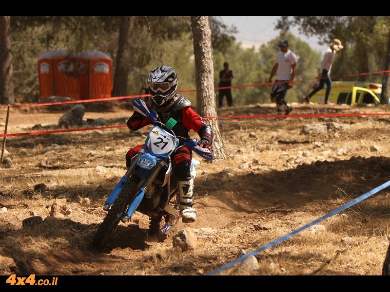 פעם שלישית - שפירא! סיכום סבב שישי ואחרון בעונת אופנועי האנדורו 2014