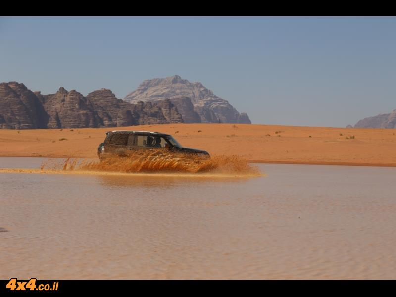 המדבר הדרומי מוצף במים