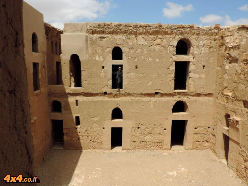 התמונות של יהודה ארמוני מהיום החמישי למסע - מצודות המדבר