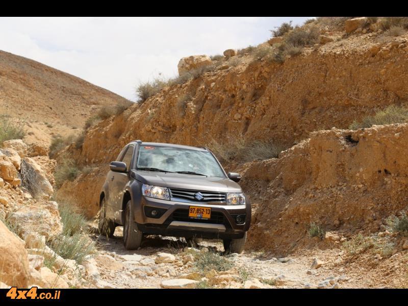 מסלול טיול לאורך נחל עקרב - בין הר נפחה להר חמרן