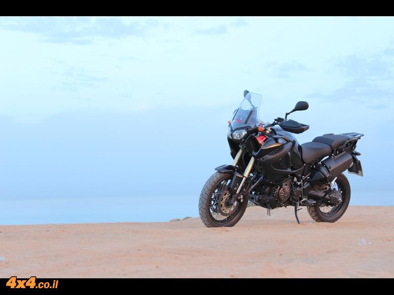 מבחן דרכים אופנוע Yamaha Super Tenere