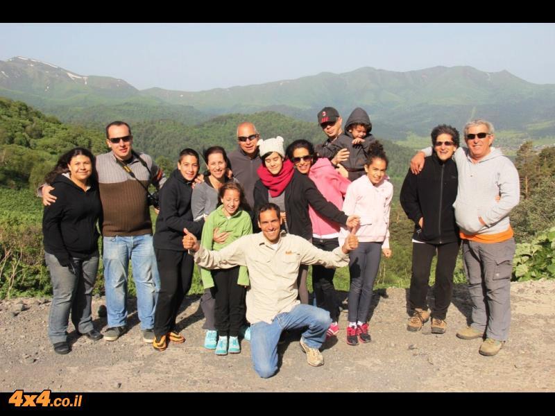 גיאורגיה - מסע ג'יפים, יוני 2014