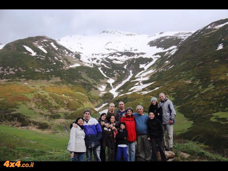 הנסיעה לאושגולי - חווית עבירות ופתיחת ציר לכל העונה