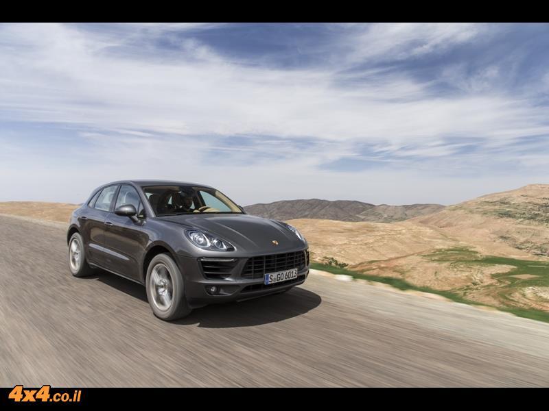 מבחן דרכים - פורשה Porsche Macan