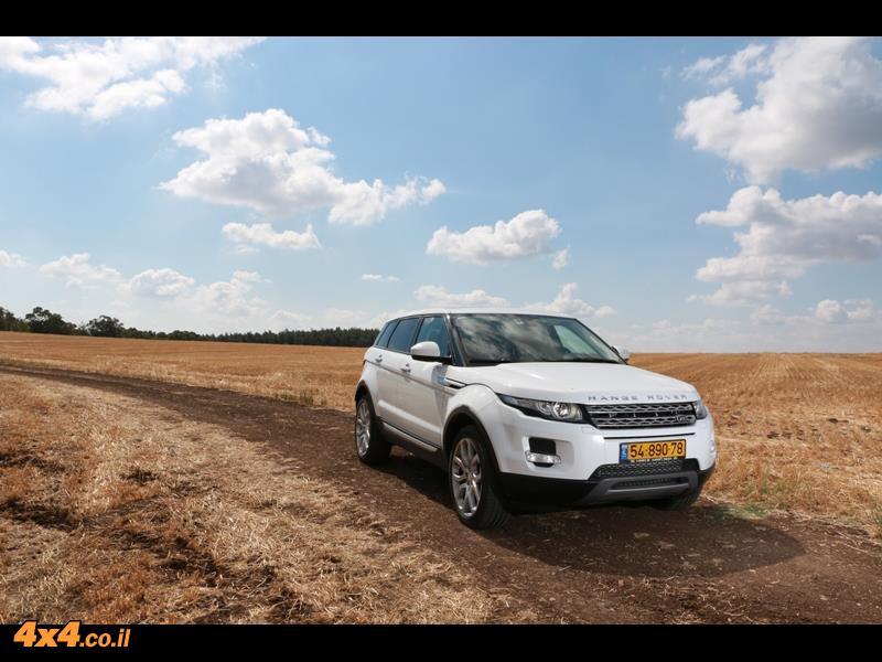 מבחן דרכים ריינג' רובר איווק Range Rover Evoque