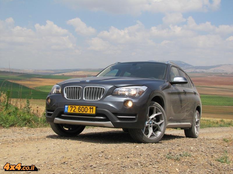 מבחן דרכים ב.מ.וו BMW X1