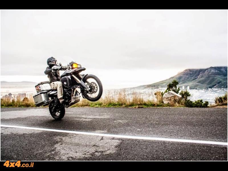 דרום אפריקה על אופנוע