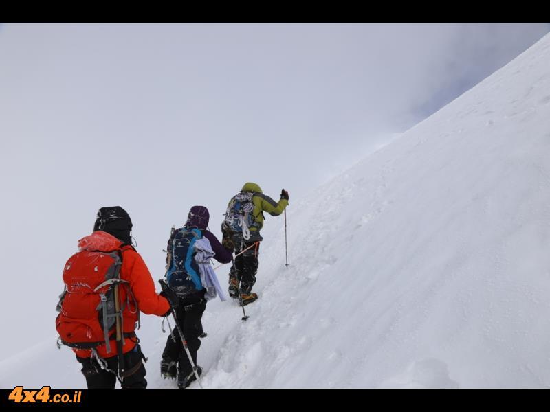 אלברוס 2014 - הטיפוס להר הגבוה באירופה