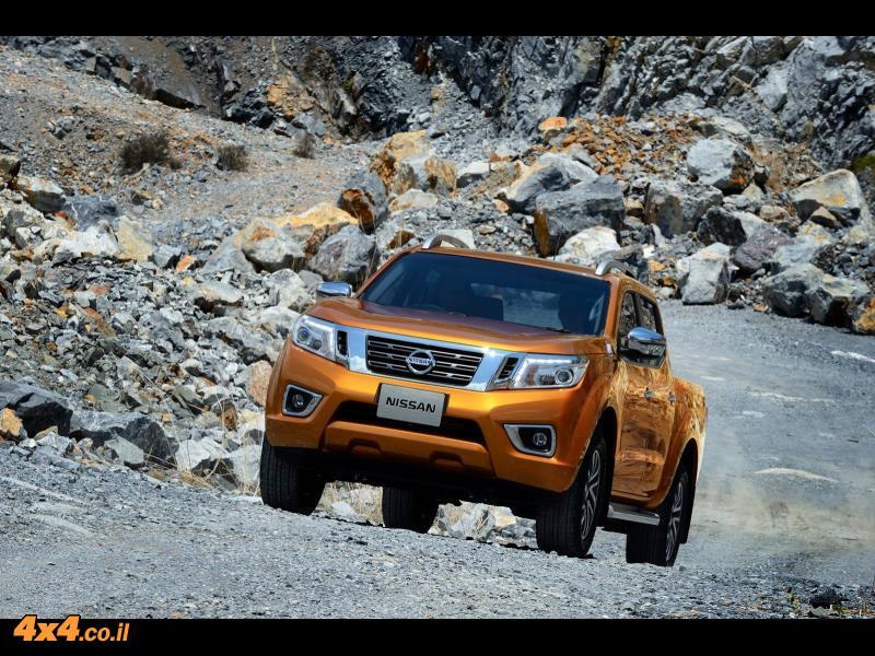 ניסאן מתכננת SUV חדש על בסיס הנבארה