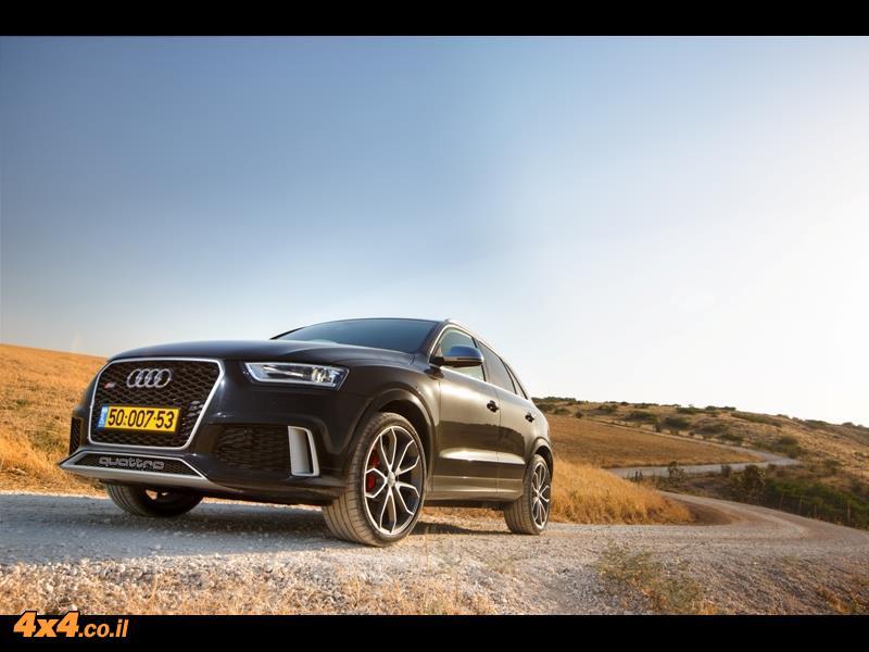 מבחן דרכים אאודי Audi Q3 RS
