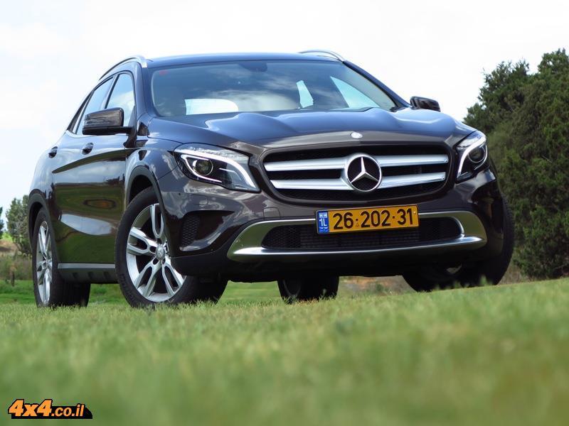 מבחן דרכים מרצדס Mercedes GLA