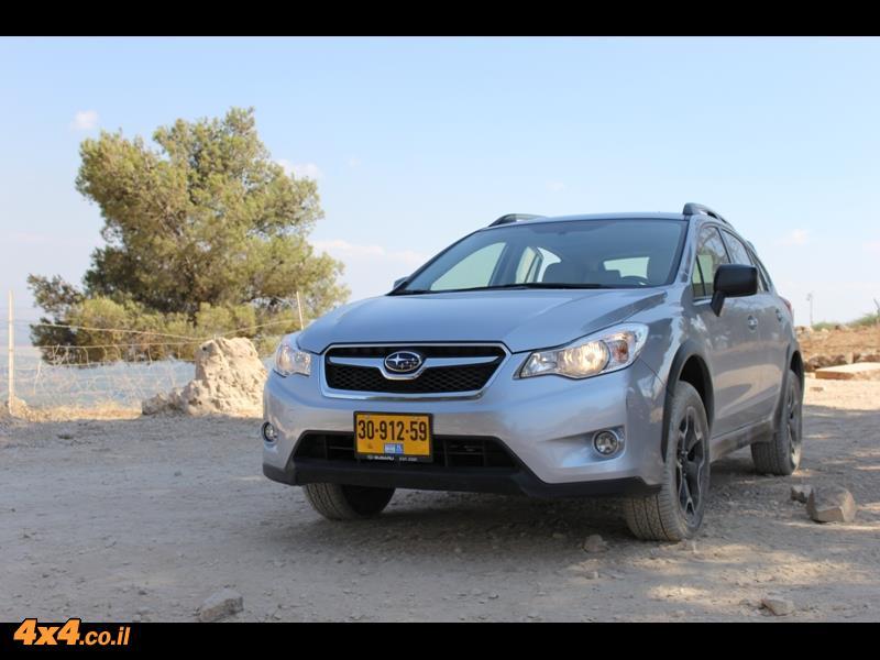 מבחן דרכים סובארו 1600 Subaru XV