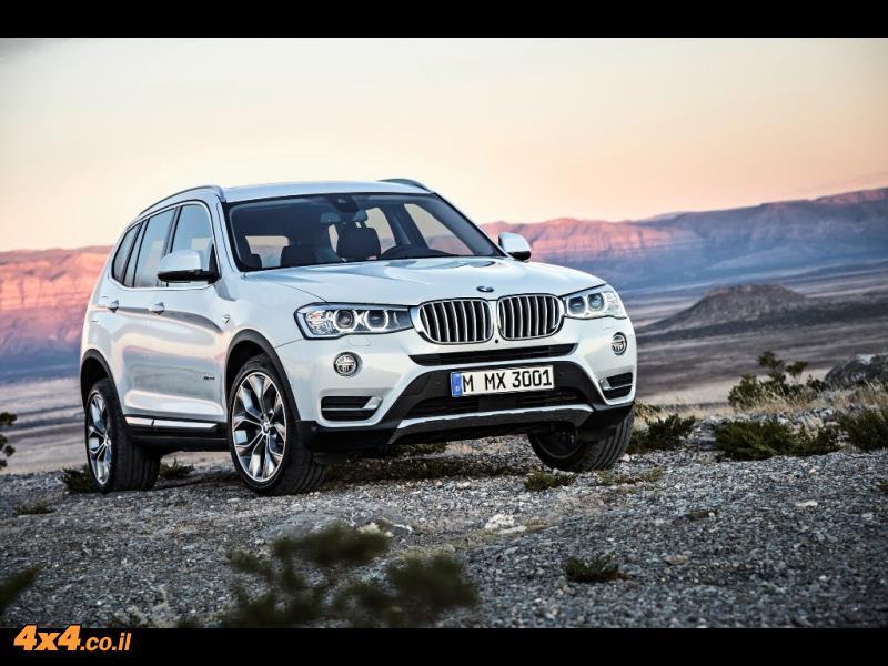 BMW X3 מודל 2014
