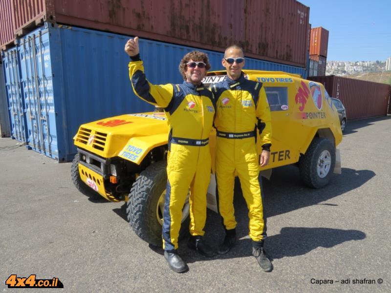 נבחרת פוינטר -3M יוצאת לראלי ברסלאו בלקן 2014