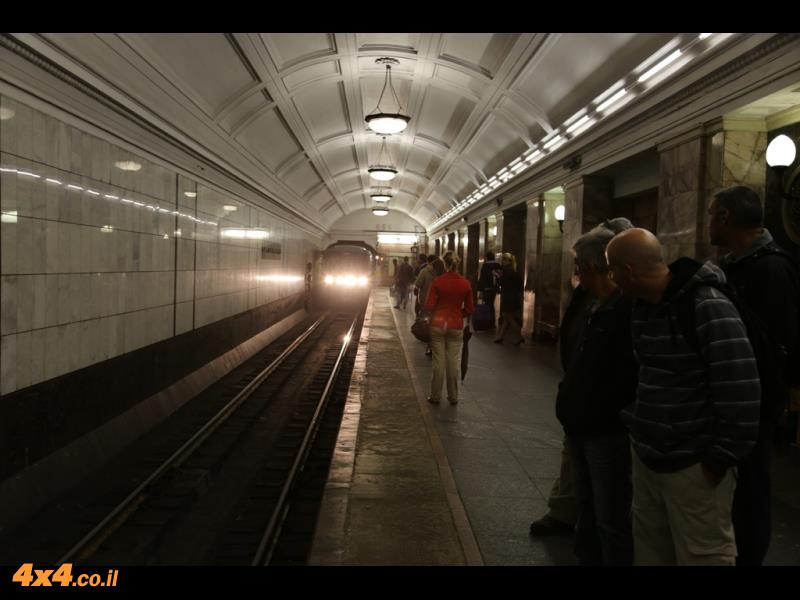 מוסקווה - הגדולה בערי אירופה ואחת מהיפות בערים אירחה אותה כתחנה באמצע הדרך