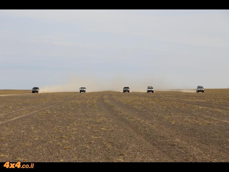 120 קמ''ש לאורך עשרות קילומטרים