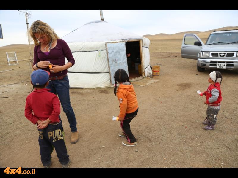 תמונות מהיום השביעי למסע במונגוליה
