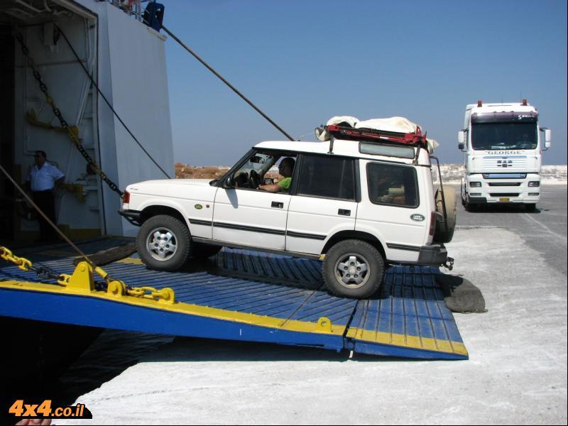 חוצה יוון: טיול ג'יפים עם רכבים מישראל - 02/08/12