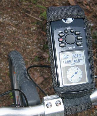 תושבת לכידון גרמין GPS MAP 76 Garmin