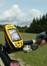 תושבת לכידון אופניים/אופנוע GPS Magellan Explorist